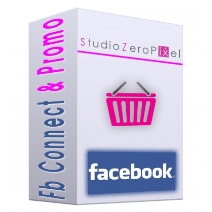 Modulo Magento Facebook Connect & Promotion